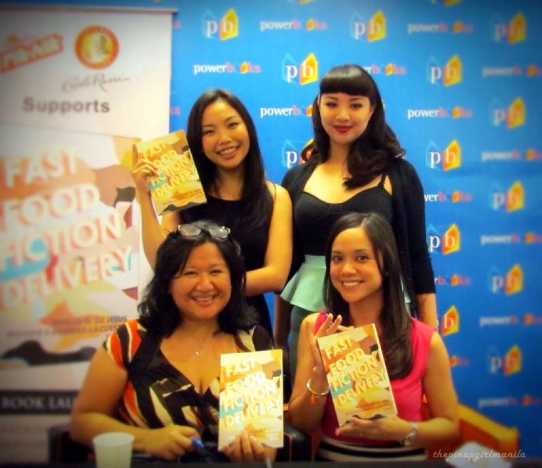 With the editors Mookie Katigbak-Lacuesta and Noelle Q. De Jesus